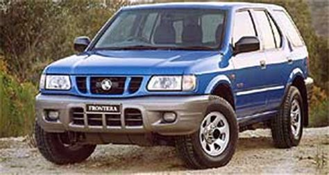holden 4wd wagon holden frontera wagon frontera upgraded goauto