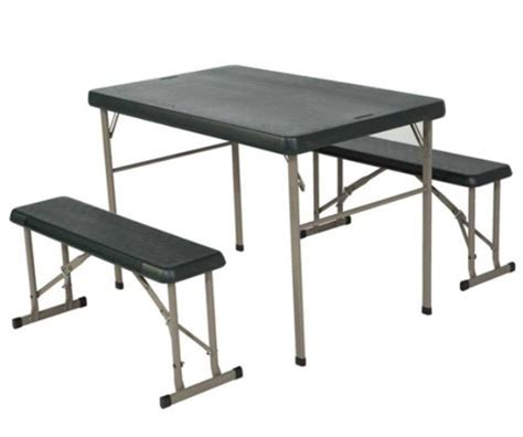 lifetime bench table new 80188 lifetime c folding sport table bench set