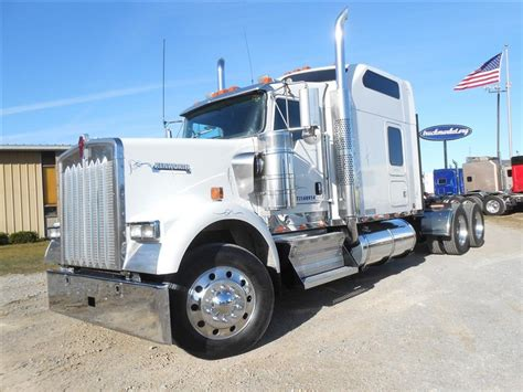 W900 Studio Sleeper by Used 2007 Kenworth W900 86 Studio Tandem Axle Sleeper