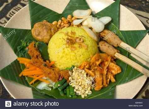 buat nasi kuning pakai rice cooker indonesia bali ubud cooking class nasi kuning fragrant