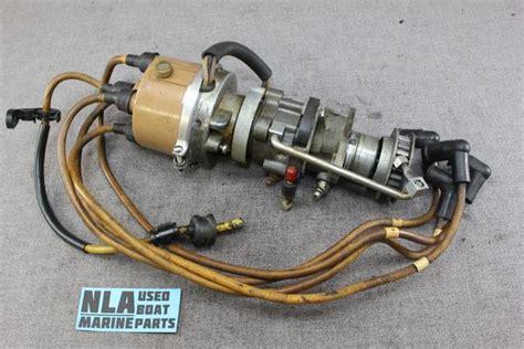 mercury outboard kiekhaefer distributor assembly   hp  cy nla marine