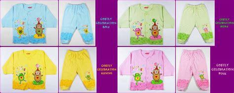 Baju Bayi Celana Pop Costly Setelan Newborn jual setelan panjang baju bayi costly ukuran s m l nyaman