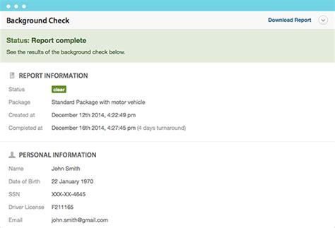 Checkr Background Check Status Background Checks For Employers Workable