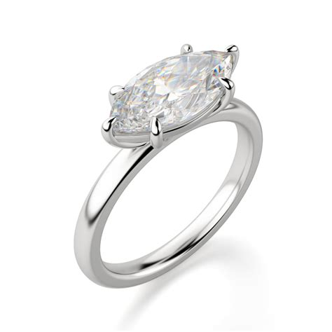 Marquise Ring by East West Classic Marquise Engagement Ring