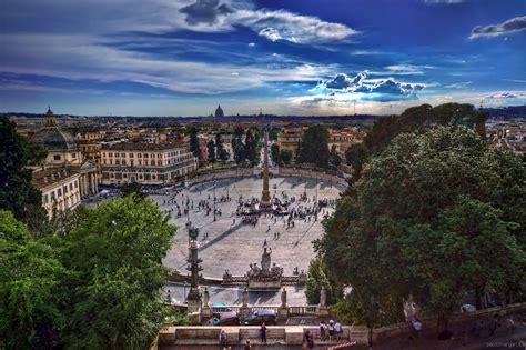 terrazza pincio piazza popolo dal pincio rome italy pincio villa