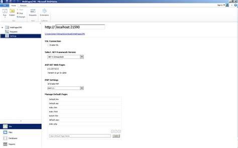 webmatrix tutorial microsoft webmatrix 3 ide the coding guys