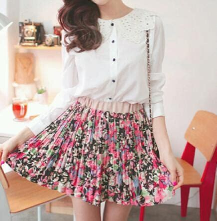 cute floral skirt outfits for teens cute floral skirts 28
