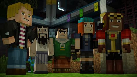 ps3 themes minecraft story mode im 225 genes de minecraft story mode para ps3 3djuegos