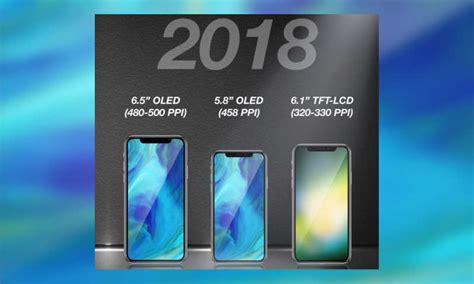 bringt apple  drei neue iphones im  screen design