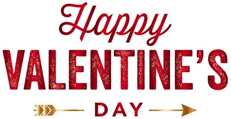 happy valentines day red png clip art image gallery