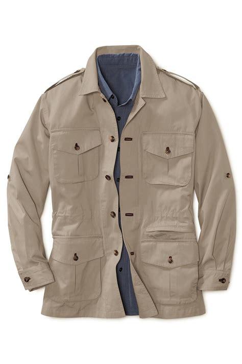 Jacket Safari s bush poplin safari jacket travel smith