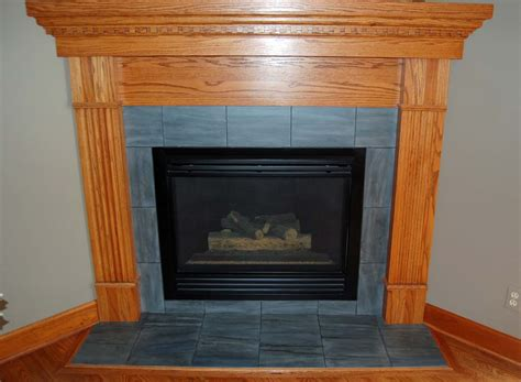 Fireplace Tiled by Davis Creative Painting Painted Fireplace Tile