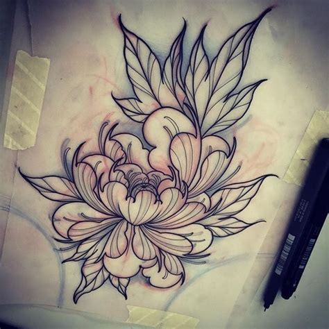 tattoo designs oriental flowers pin by beverly ho on floral pinterest peony tattoo