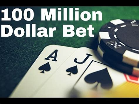 hundred dollar bet books blackjack 21 100 hundred million dollar bet