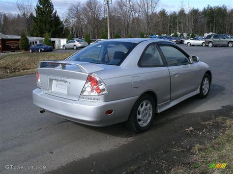 mitsubishi mirage silver 2002 munich silver metallic mitsubishi mirage ls coupe