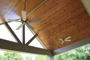 Exterior Ceiling Board Outdoor Rooms Tennessee Craftsmen