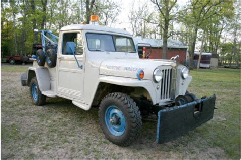 Jeep Tow Truck 1948 Truck Towing Newfield1