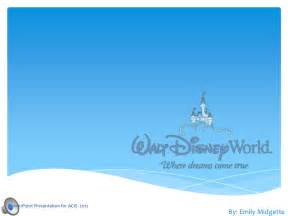 Disney Powerpoint Template by Disney Emily