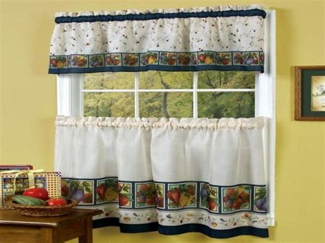 Cape Cod Kitchen Curtains Country Kitchen Curtains And Valances Free Image