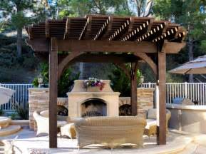 Pergola With Fireplace by Pergola With Fireplace Green Acres Pinterest