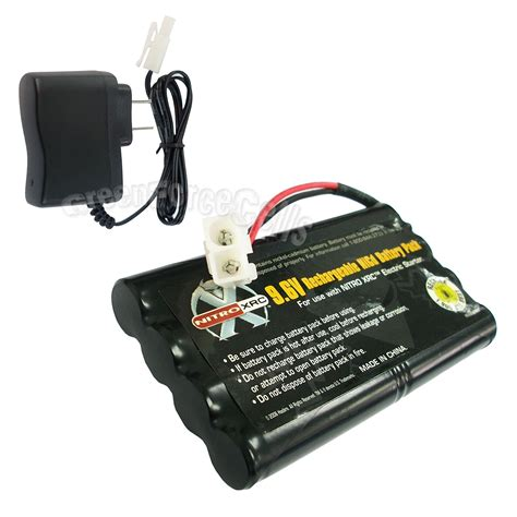 6v rechargeable battery and charger 9 6v 1000mah nicd rechargeable battery pack tamiya