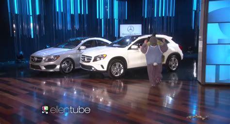 Ellen Show Car Giveaway - ellen degeneres celebrated her birthday giving away two mercedes benz autoevolution