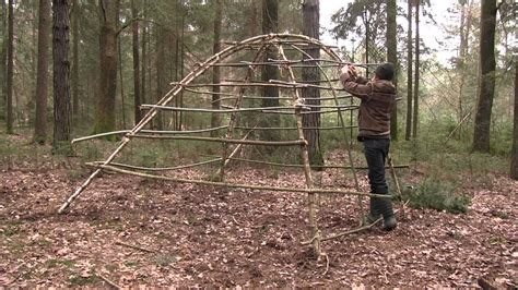how to house a shelter building a age hut as survival shelter