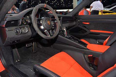 Porsche Gt3 Interior by 2016 Porsche 911 Gt3 Rs Release Date Changes Specs