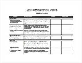 management template sle management plan template 8 documents in