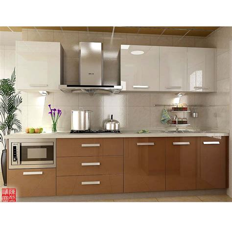easy fitted acrylic kitchen cabinet designs  small
