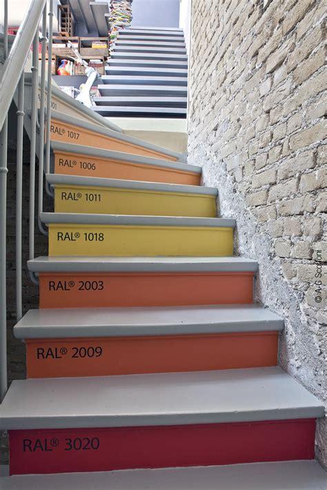 Comment Renover Un Escalier 3020 by Decordemon Colorful Loft In