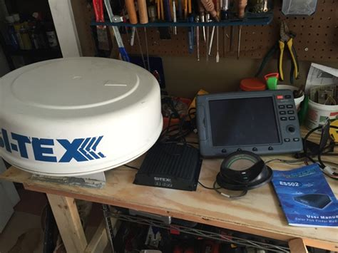 one radar for sale sitex colormax11 24mi radar complete system for sale