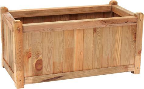fioriere in legno per esterno fioriera da esterno in legno cassetta 40x80 arredo