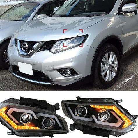 2015 Nissan Rogue Led Headlights by Newest Led Headlights For Nissan X Trail 2014 2015
