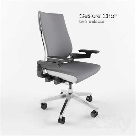 3d models office furniture gesture office chair