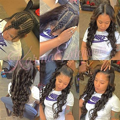 Versatile Sew In Hairstyles by 25 Best Ideas About Versatile Sew In On Sew