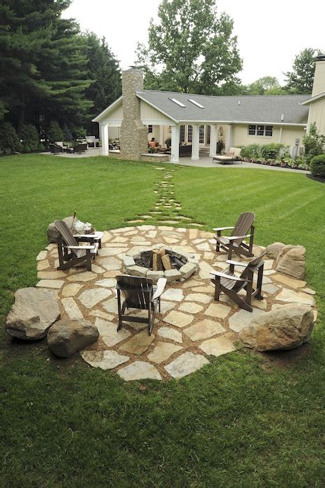 pit on grass creative pit designs and diy options