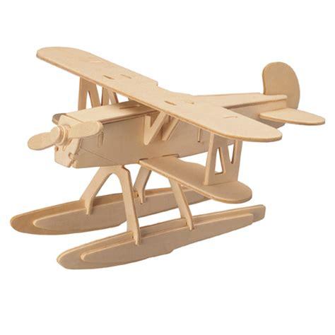 Puzzle Kayu 3d Plane Model B puzzle przestrzenne 3d importer zabawki edukacyjne