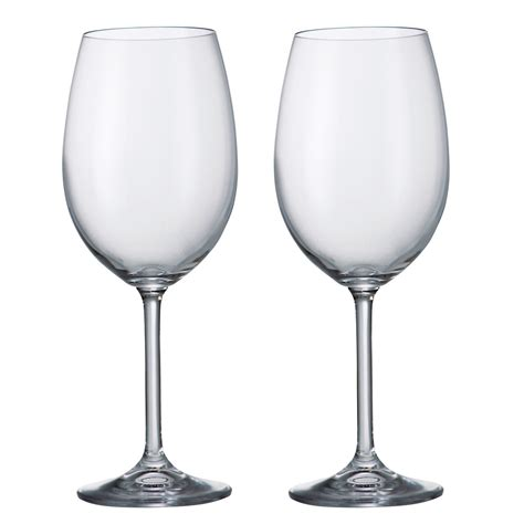 wine glasses buy barbara crystalite bohemia wine glasses x 2