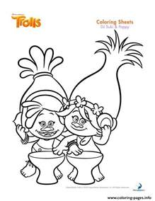 poppy template to colour dj suki poppy trolls coloring pages printable