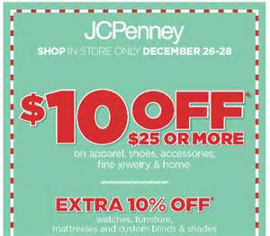 jcpenney furniture coupon