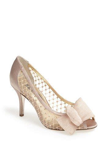 Perfect bridal shoe! Crystal and mesh and bows   lovely