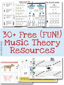 free resources free sheet music and theory printables