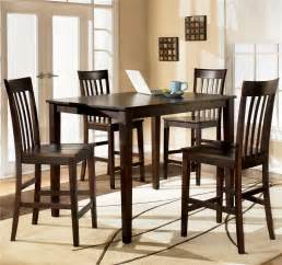 Furniture Kitchen Table Ashley D258 223 Hyland Rectangular Dining Room Counter