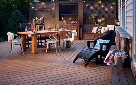 Design Basics House Plans Transcend Composite Decking Deck Floors Trex