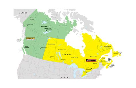 map of canada with territories canada territory map