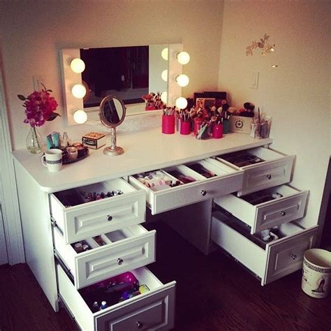 make up desk for the home pinterest