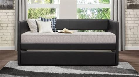 Furniture Canton Oh homelegance daybeds contemporary adra daybed with trundle