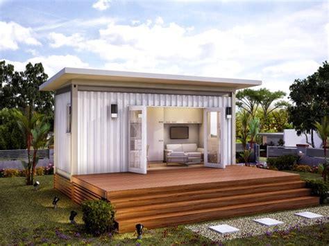 granny house monaco granny flat studio prefab home modern