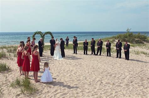 Wedding Venues On Lake Michigan by Ceremony Manistee Mi Usa Wedding Mapper